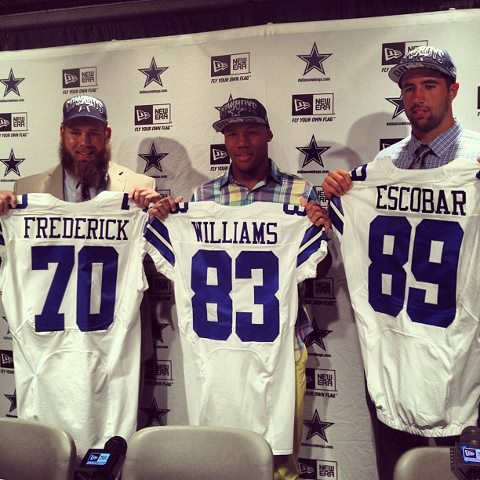 Cowboys draft picks 2013